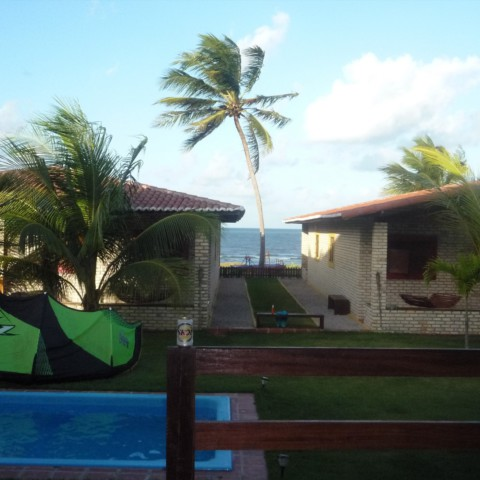 Why the condominium and the location is ideal for a kitesurf trip
